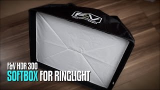 F&V RS-1 Softbox for R-300 LED Ring Light