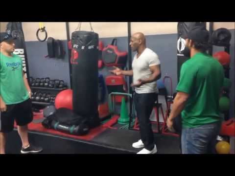 Johny Hendricks traning with Iron Mike Tyson for Lawler fight Image 1