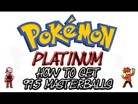 How To Get Unlimited Master Balls in Pokemon Platinum (Action Replay)