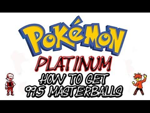Pokemon Platinum Codes | Master Ball Cheat (Action Replay)