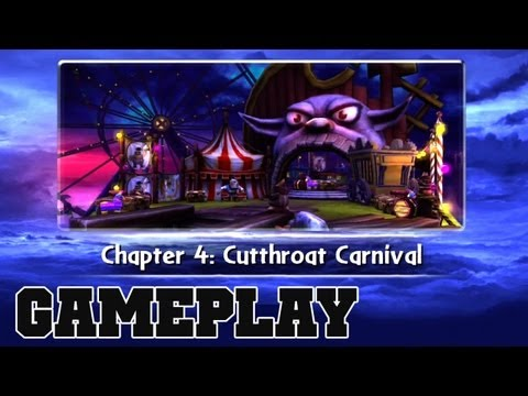 COTV - SKYLANDERS GIANTS Cutthroat Carnival Gameplay Commentary 04