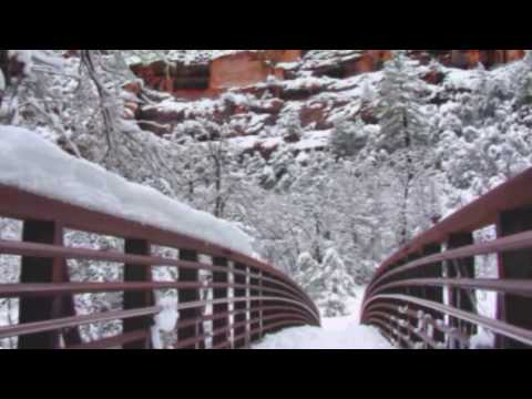 Sedona AZ - West Fork in Winter - romantic Piano music by Vibhas