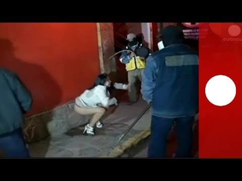 Video: Vigilantes Chase, Whip Women In 'anti-prostitution' Raid On Peru Night Club video