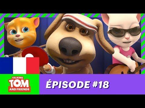 Talking Tom and Friends - Le roi de la raquette (Épisode 18)