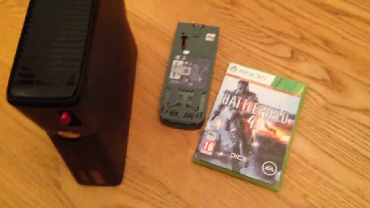 how to put movies on xbox 360 hard drive