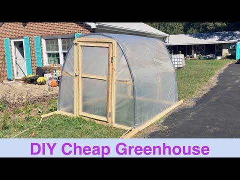 DIY Cheap Greenhouse