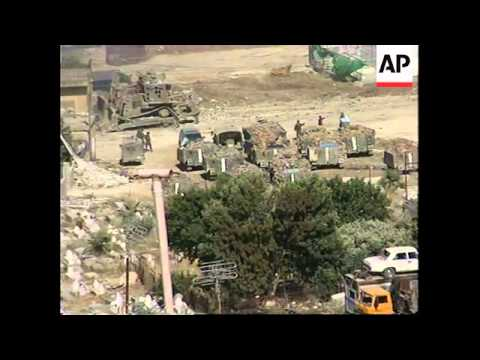 Israeli troops continue arrests, demolish buildings