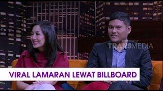 VIRAL Lamaran Lewat Billboard | HITAM PUTIH (09/11/18) Part 1