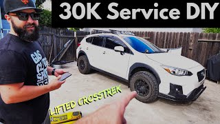 SAVE $400+ 2018 LIFTED SUBARU CROSSTREK 30K SERVICE DIY