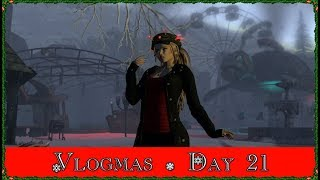 Vlogmas Day 21! A Very Spooky Christmas! (Second Life)