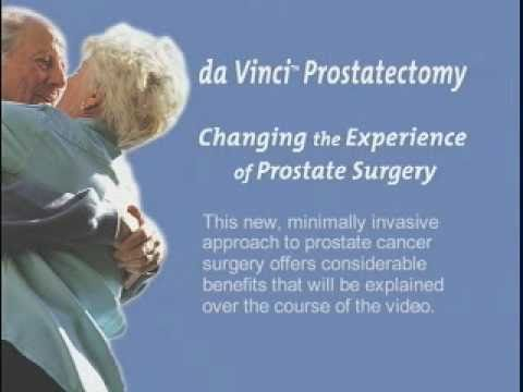 da Vinci  Prostatectomy