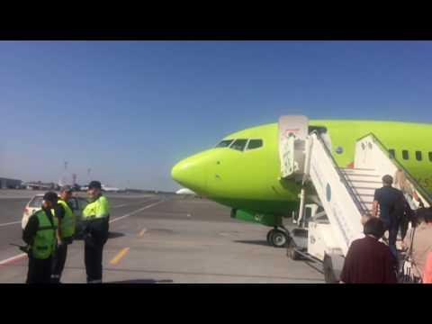 Полет Новосибирск-Москва