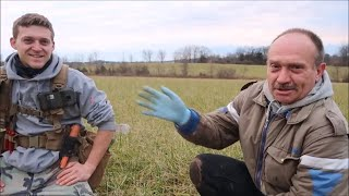 Metal Detecting Coins And Relics With Mick and Vince