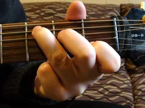 1. C, A, G, F (F7+) - Chwyty Gitarowe. Nauka Gry Na Gitarze