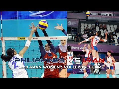 Philippines vs Iran Volleyball Highlights, Scores and Statistics - 2018 Asian Women's Volleyball Cup thumbnail