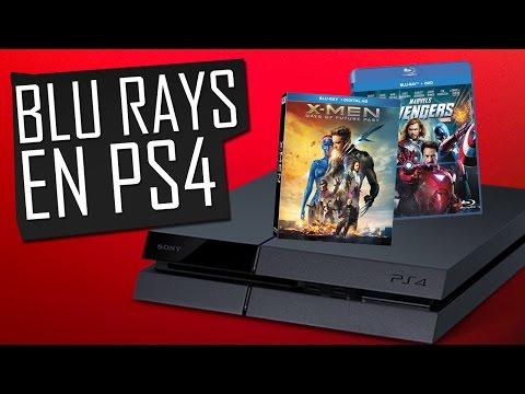Cómo ver Blu Ray en PS4