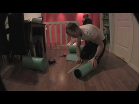 How to make a foam roller