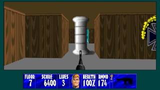 Wolfenstein 3D with CeeJay's hi-res mod (version 8) and 3DO music