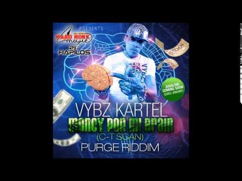 Vybz Kartel - Money Pon Mi Brain [c-t Scan] | Purge Riddim | haadrokkmuzik | 2014 | 21sthapilos video