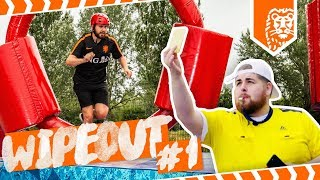 WIPE OUT CHALLENGE #1: EPIC WARMING UP CHALLENGE!!