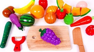 Learning Colors for Kids Learn your Colors with Play Food Fruit and Vegetables for Children