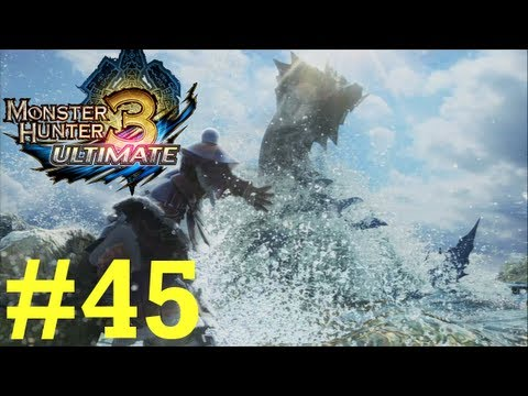 Monster Hunter 3 Ultimate - Online Quests -- Part 45: Sticky Situations!