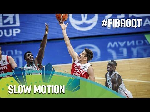 Senegal v Turkey in slow motion!