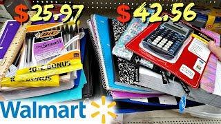 WALMART SCHOOL SUPPLIES GENERIC VS NAME BRAND EXAMPLES 2018