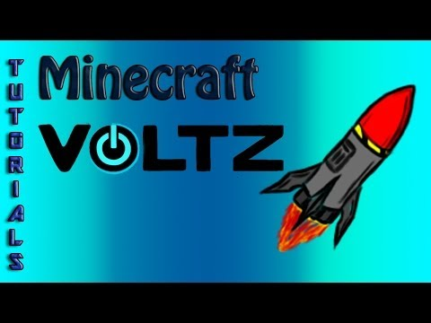 Voltz Tutorials - ICBM Voltz Turrets - Gun, Laser, AA Turret and Railgun!