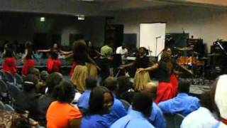 dance troupe Gospel explosion performance