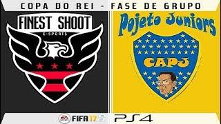 LIVE - Copa do Rei -- Finest Shoot ES x Pojeto Jr (ida e volta)
