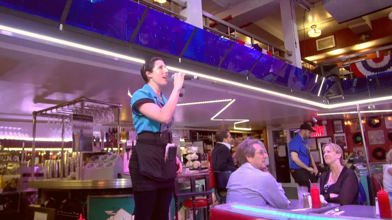 New york city ellen 39 s stardust diner on broadway 1080p youtube - Ellen show new york ...