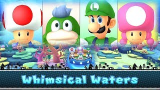 Mario Party 10 Whimsical Waters ◆ Toad vs Spike vs Mario vs Toadette  #10