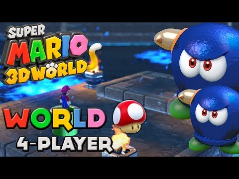 Super Mario 3D World - World Mushroom (4-Player)