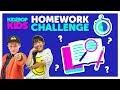 Back To School Homework Challenge with The KIDZ BOP Kids