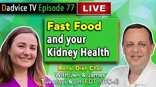 Kidney Health Tips: Fast Food and Kidney Disease - Dining out on a Renal Diet