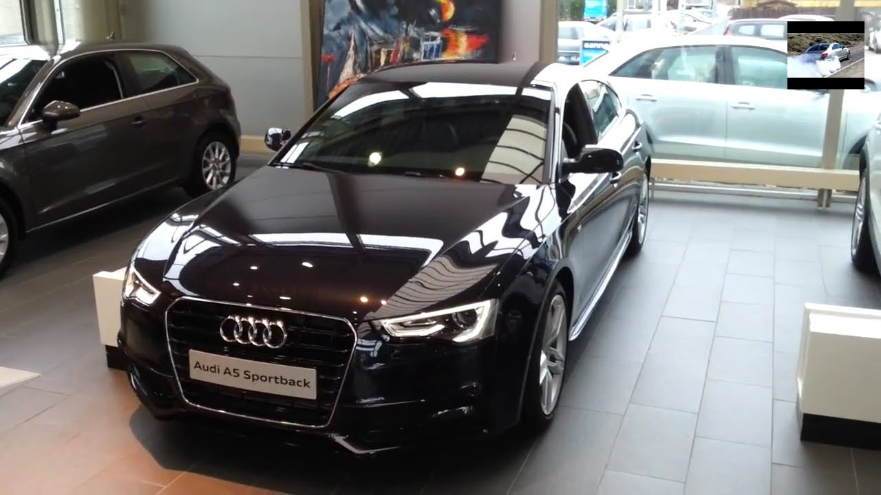 audi a5 sportback s line 2015 in depth review interior exterior youtube. Black Bedroom Furniture Sets. Home Design Ideas