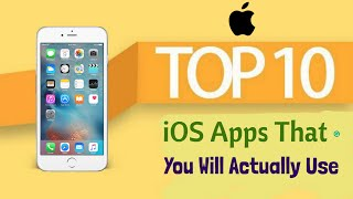 10 iOS Apps That Your Most Likely Going To Use