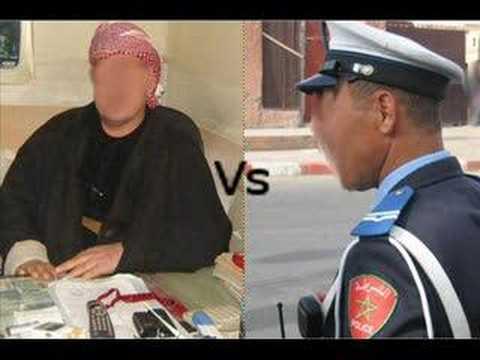شرطي مغربي فصراع مع مغربي (new le police marocain maroc bilal (polizario fuck Music Videos