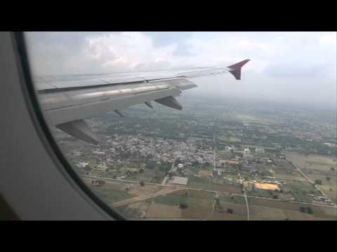 Landing at Delhi - Airbus A321 - Air India