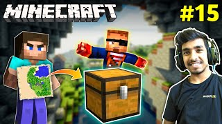 I FOUND PIRATES SECRET TREASURE | MINECRAFT GAMEPLAY #15