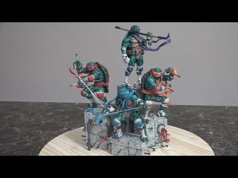 Good Smile's Teenage Mutant Ninja Turtles Figures- Full Set-Unboxing