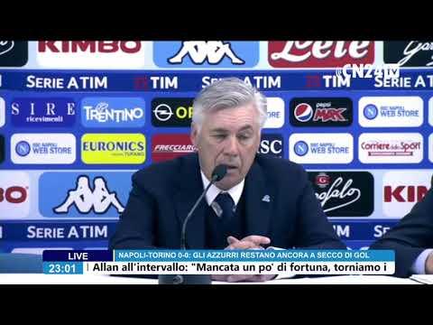 conferenza stampa dopo Napoli - Torino