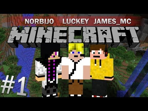 Minecraft Survival! - 1. rész - w/ James_mc & Norbijo
