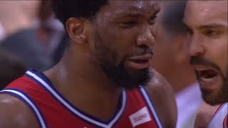 Joel Embiid CRIES after Game 7 Loss | Raptors vs 76ers | 2019 NBA Playoffs