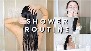 MY SHOWER ROUTINE + HAIR CARE 2018