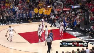 Golden State Warriors at Portland Trail Blazers - April 24, 2017