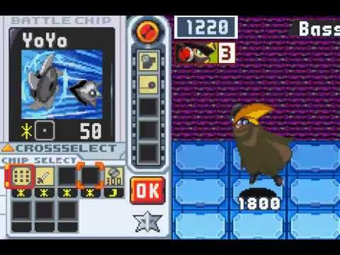 Megaman Battle Network 6 part 70- Bass &amp; the Batkey