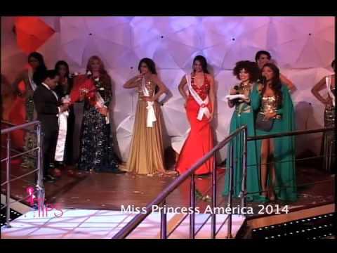 Alex Matos y ganadoras concurso Miss Princess América III TipsTV 1-11-14 Parte 3