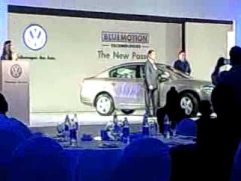 Unveiling of the all-new Volkswagen Passat